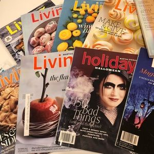 Martha Stewart Living Magazine Set of 12